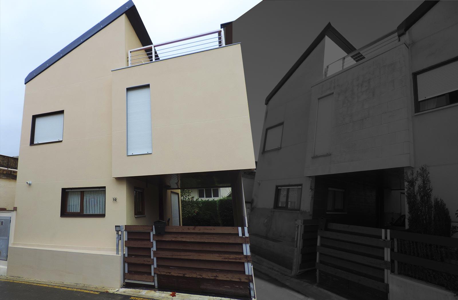 Obra y rehabilitación de inmuebles casas en Vitoria Gasteiz